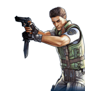 Chris BIOHAZARD Team Survivor render