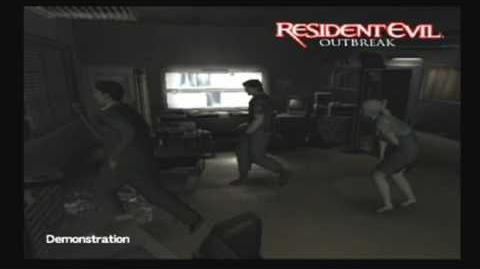 Gameplay demo 2 (Resident Evil Outbreak cutscene)