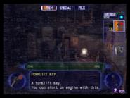 Resident Evil Outbreak items - Forklift Key 02