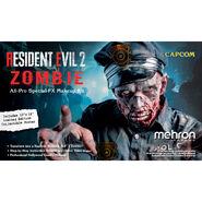 Mehon Makeup Resident Evil 2 poster 1
