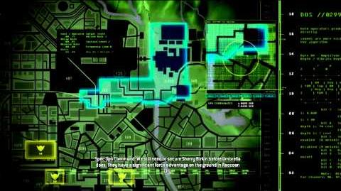 Resident Evil Operation Raccoon City all cutscenes - The Places We're Meant to Die Briefing