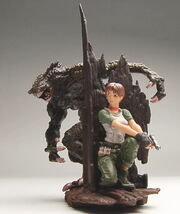 Biohazard Figure Collection - Rebecca Chambers vs. Hunter