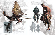 Resident Evil 6 Artworks - Creature Design (17)