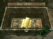Treasure box in RE5