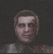 Degeneration Zombie face model 30
