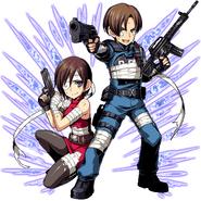 Leon & Ada RE2 Clan Master2