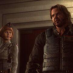 Паркер и Джессика в Террагригии