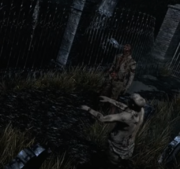 Resident Evil remake Graveyard Zombies