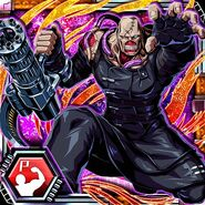 BIOHAZARD Clan Master - BOW card - Nemesis-T Type2