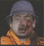 Degeneration Zombie face model 48