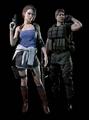 Jill and Carlos RE original Costumes
