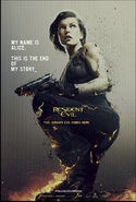 Resident Evil The Final Chapter poster 6