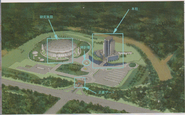 Air Dome Laboratory concept art 2
