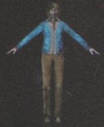 Degeneration Zombie body model 57