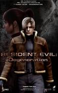 Resident Evil Degeneration America Poster