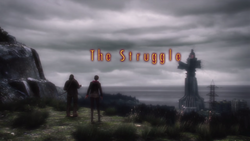 The Struggle Title Card