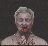 Degeneration Zombie face model 51