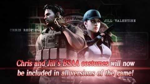 Resident Evil - BSAA Costume Trailer