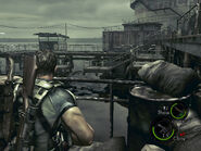 Oil field dock in-game (RE5 Danskyl7) (3)
