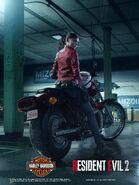 Claire Redfield Motorcycle