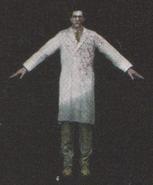 Degeneration Zombie body model 20