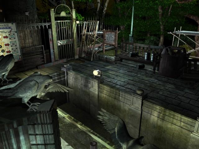 Raccoon Park/Fountain   Resident Evil Wiki   FANDOM powered