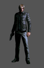 RE.NET Extra File Leon S. Kennedy