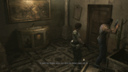 Resident Evil 0 HD - Cafeteria tree examine 2