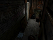 Resident Evil 3 background - Uptown - warehouse back alley b2 - R11D01