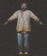 Degeneration Zombie body model 39