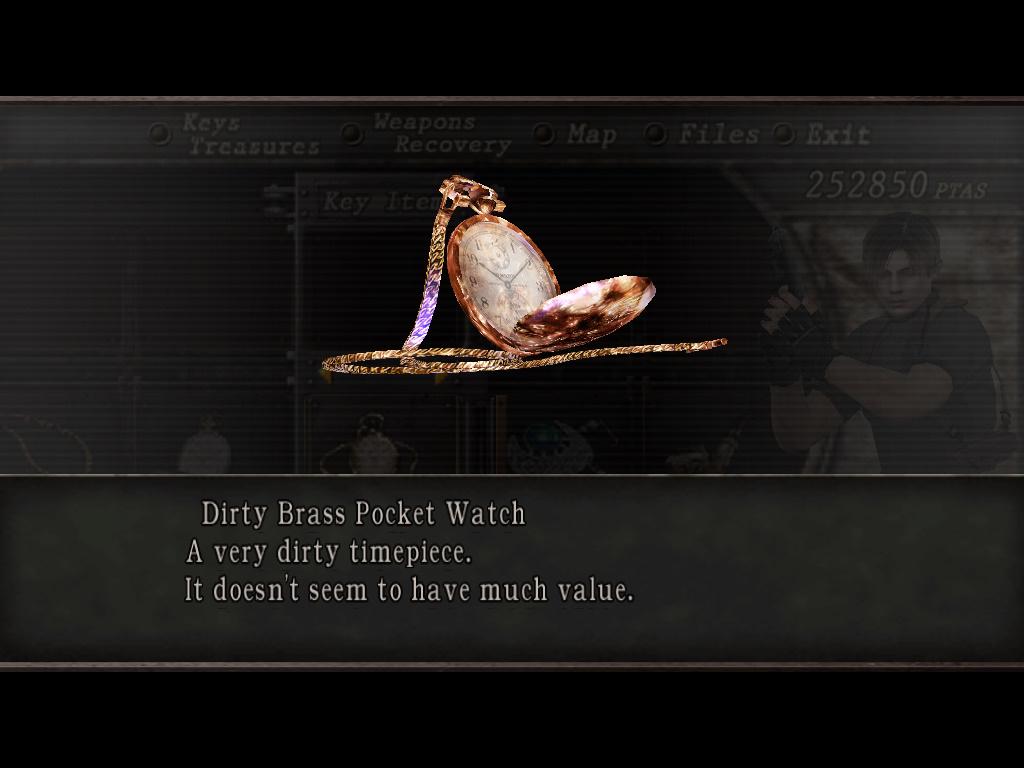 Dirty Brass Pocket Watch | Resident Evil Wiki | FANDOM powered by ...
