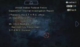 P.F. EEUU (Informe del depto de Asuntos Internos)