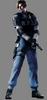 Leon RPD costume RE4 model