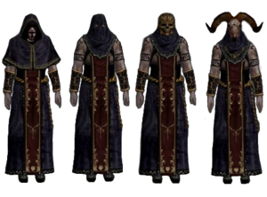 Purple clad Cultists Resident Evil 4