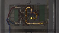 RE2 remake Electronic Door Panel puzzle (Claire, 2nd)