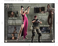 Resident Evil 4 Wii Edition Instruction Booklet 7
