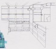 CODE Veronica concept art - B.O.W. storage room 10