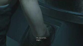 Resident Evil 2 remake all scenes - Claire takes the anti-virus agent