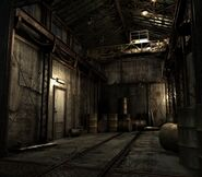 Arklay factory - Marshalling yard background 2