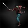 J'avo - machete diorama