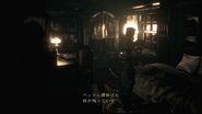 Resident Evil 2002 Dormitory - Room 001 bed Japanese examine