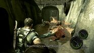 Resident Evil 5 - Kipepeo first encounter