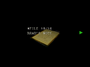 Re264 EX Brad's Note