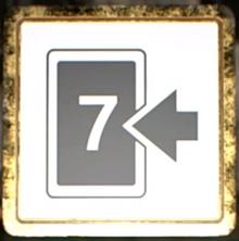 Seven card