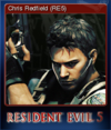 Steam Card - Chris Redfield (RE5)
