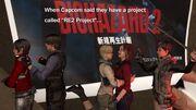The older casts in Resident Evil 2