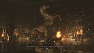 Resident Evil 0 HD - Basement hall horse examine 1