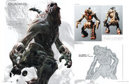 Resident Evil 6 Artworks - Creature Design (25)