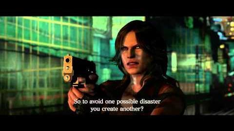 Resident Evil 6 all cutscenes - Final Showdown with Derek Simmons