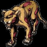BIOHAZARD Clan Master - BOW art - Zombie Lion